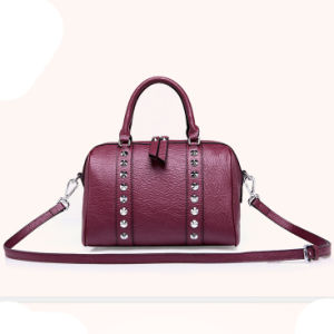 Made China Wholesale Handbags Ladies 2016 Women Bag PU Leather with Diamond (ZX10318) pictures & photos