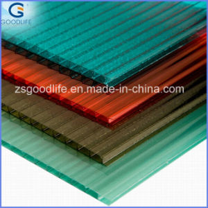 UV-Protected Multi-Wall Polycarbonate Sheet 1220mm Width pictures & photos