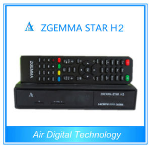 Zgemma-Star H2 Combo DVB-S2+T2/C Hybrid Satellite Receiver with Internet Connection pictures & photos