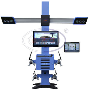 Higher Accuracy 3D Wheel Alignment Machine for Auto Repair Machines pictures & photos