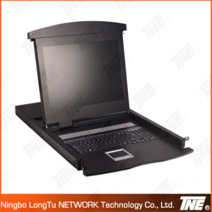 VGA LCD Kvm Switch with 4 Ports and 17′′ Screen pictures & photos
