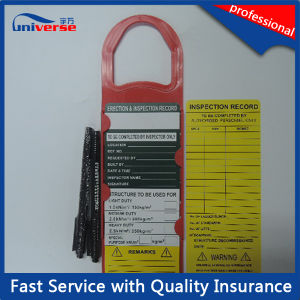 Scaffolding Tag for Constructor Inspection Record pictures & photos