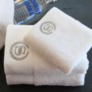 Luxury 16s Soft Cotton Hotel Bath Towel with Embroidery Logo (JRD024)