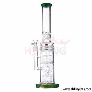 23 Inche K42 Lookah 3 Honeycomb and Birdcage Percolator Glass Pipe, Smoking Water Pipe pictures & photos