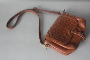 New British Style Saddle Bag (HD-7060)