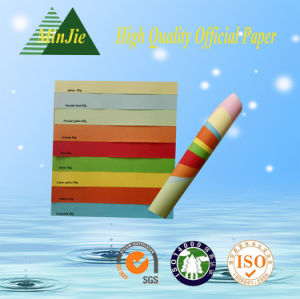 Colorful Copy Paper with A4 Letter Size / Office Use Paper