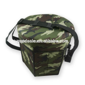 600d Foldable Picnic Storage Seat Cool Box for 80kgs Weight