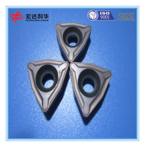 Customized Tungsten Carbide CNC Inserts for Steel Machining pictures & photos