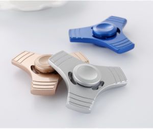 3 Leaf Aluminum Alloy Hand Spinner pictures & photos
