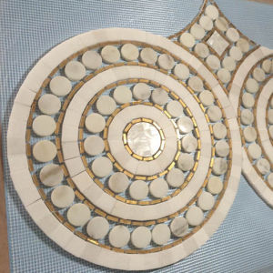 Pattern Luxury Chinese Style Waterjet Marble Mosaic Tile pictures & photos