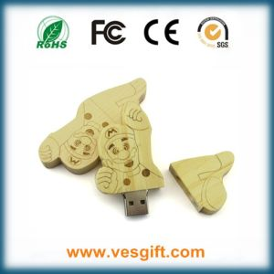 Gadget Wooden Carton USB Flash Memory Pendrive pictures & photos