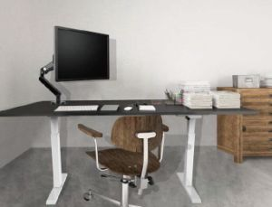 Crank Handle Height Adjustable Desk/Lift Desk/Standing Desk (HT101) pictures & photos