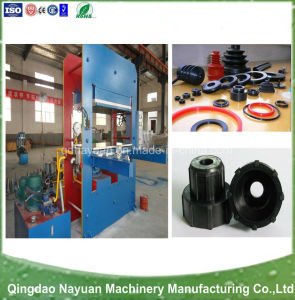 Rubber Moulding Hydrulic Press with Platen pictures & photos