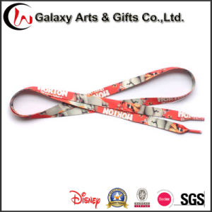High Quality Custom Printed Recycled Polyester Sublimation Shoelaces pictures & photos