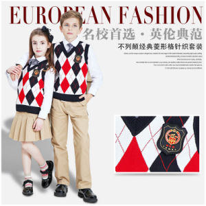 School Uniform Fort Student Outstanding Value Unisex Pure Cotton Jumper pictures & photos