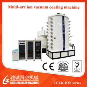 Cczk-Ion High Quality Stainless Steel Sheet Vacuum Coating Machine pictures & photos