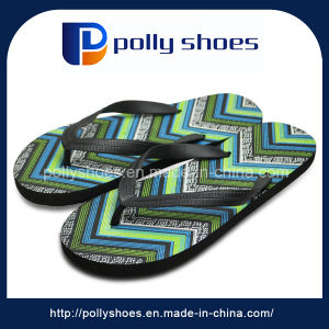 Hot Sale Good Quality Custom Logo Cheap Rubber Flip Flop pictures & photos