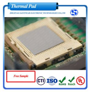 8.0W Thermal Conductive Silicone Pad for Gap Filling pictures & photos