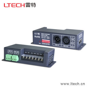Ltech Lt-840-6A 6A*4CH DMX Decoder for RGB RGBW Light DMX Driver 5-24V Output DMX Signal Amplifier DMX512 Controller pictures & photos