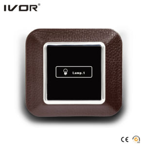 3 Gangs Lighting Switch Touch Panel Aluminum Alloy Material (AD-ST1000L3) pictures & photos