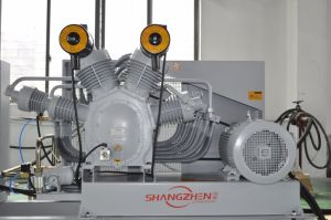 (2-SH-4.0/40) 4.0nm3/Min 30bar-35bar-40bar Pet Bottle-Blowing Dedicated Air Compressor Medium High Pressure Compressor pictures & photos