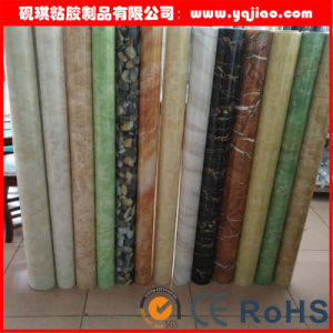 Cabinet Door High Glossy Wood Grain PVC Film pictures & photos