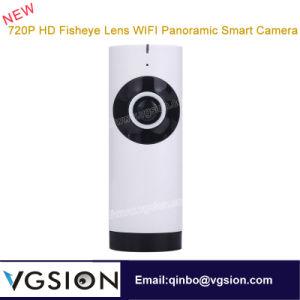 720p HD Fisheye Lens WiFi Panoramic Smart Camera 180 Degree Smart WiFi Mini Camera Security Fisheye Panoramic Camera Good Night Vision