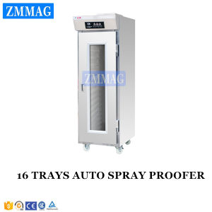 16 Trays Auto Spray High Quality Proofer with Humidifier for Sale (ZMX-16P) pictures & photos