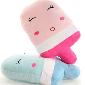 Customized Big Cute Ice Cream Pillow pictures & photos