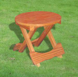Garden Furniture Outdoor Folding Chair Wooden Stool