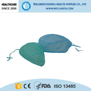Non-Woven Material Disposable Surgical Caps pictures & photos