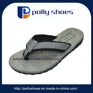 Men′s Rubber Slide Sandal Comfortable Shower Beach Slipper Slip on pictures & photos