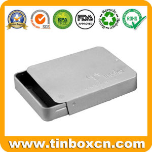 Rectangular Sliding Tin Container, Slide Tin Box, Metal Food Tin pictures & photos