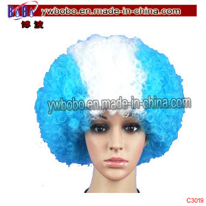 Olympic Games Decorations Party Afro Hair Wig Party Supply (C3017) pictures & photos