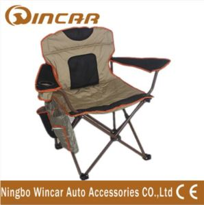 Aluminum Folding Camping Chair with Arm Rest Cup Holder pictures & photos