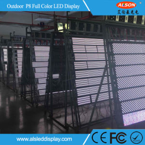 HD Outdoor Double Sided LED Screen for Street Stand Advertising pictures & photos