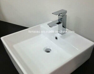 Watermark Brass Chrome Square Simple Basin Tap Sanitary Ware (HD4201D9F) pictures & photos
