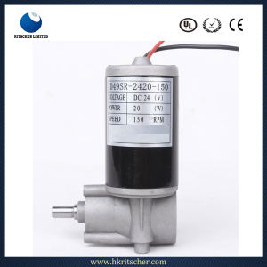 High Quality 50mm Diameter DC Gear Motor pictures & photos