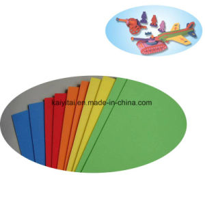 DIY EVA Foam Sheet/Children Craft EVA Sheet/Colorful Foam Sheets pictures & photos