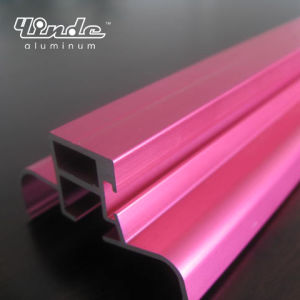 Pink Anodized Aluminum Profile pictures & photos