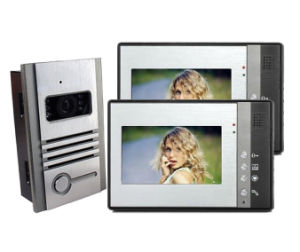 "7"" Color 4 Wire Hand Free Intercom Video Door Phone Doorbell pictures & photos"