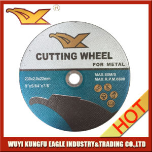 230*2*22mm High Quality Abrasive Cutting Disc pictures & photos