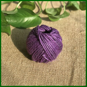 Dyed Colorful Jute Twine for Gardening (Purple) pictures & photos