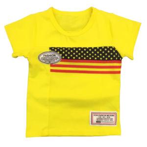 Fashion Cotton Print Short Sleeve Kid T-Shirt pictures & photos
