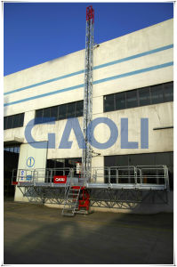 Excellent Quality Building Construction Use Mast Climbing Work Platform pictures & photos