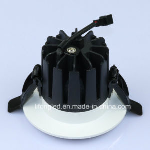 Indoor Hotel Lighting COB Recessed 7W LED Ceiling Light Downlight with 75mm Cutting Hole pictures & photos