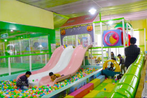 Big Size Indoor Playground with Trampline Soft Indoor Playground pictures & photos