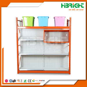 Heavy Duty Combined Integrated Gondola Shelving pictures & photos