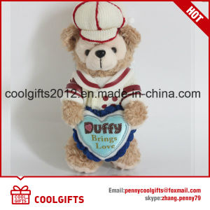Hot Sale Lovely Teddy Bear 14cm Pendent Plush Stuffed Toy, Keychain pictures & photos