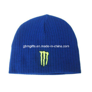 Headwear/Winter Warm Custom Beanie Cap/Promotion Knit Beanie Hat pictures & photos